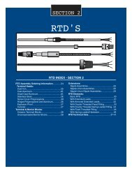 TMS-RTD Cat. - Temperature Measurement Systems