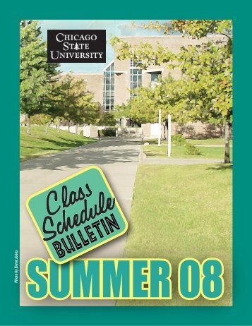 Class Schedule Bulletin (pdf) - Chicago State University