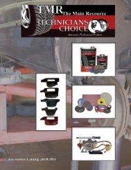 TMR Accessories Catalog - The Main Resource