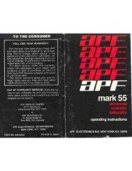 APF Mark 55 - wass.net