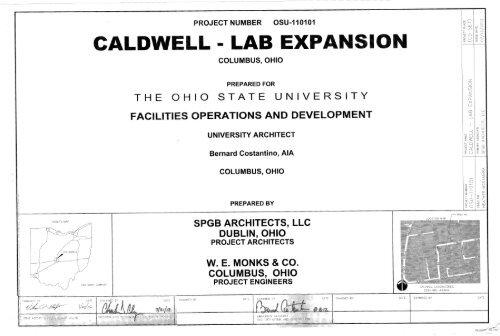 Caldwell Lab Plans pdf - 2K General Construction Company