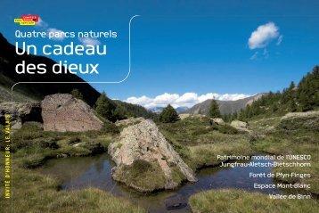Quatre parcs naturels - Jean Troillet