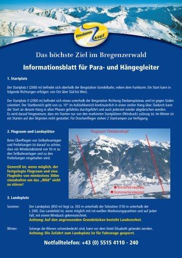 Informationsblatt f