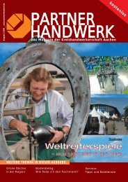 Partner Handwerk 02/2006 - Kreishandwerkerschaft Aachen