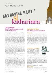 katharinen_baubrief_.. - Hauptkirche St. Katharinen | Hamburg