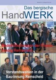 Ausgabe 06 I 2010 - Innung fuer Elektrotechnische Handwerke ...