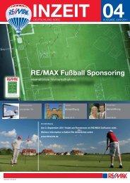 RE/MAX Fußball Sponsoring - Leipner Immobilien