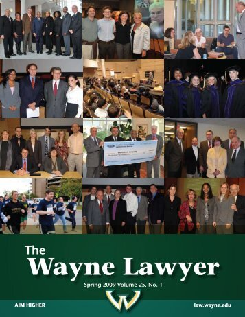 Wayne Lawyer - Wayne State University Law School