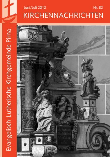 KIRCHENNACHRICHTEN - Luth. Kirchgemeinde Pirna