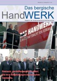 Ausgabe 01 I 2010 - Innung fuer Elektrotechnische Handwerke ...
