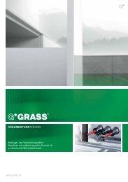 Verarbeitungstechnik - Grass