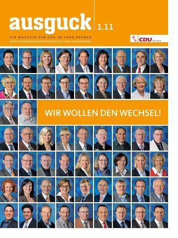 Ausguck 1.11 - CDU Bremen