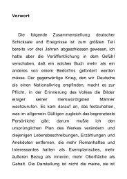 Vorwort Die folgende Zusammenstellung deutscher ... - BookRix
