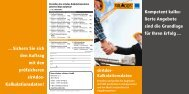 Informations-Flyer - blue:solution software GmbH