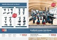 NEU! - Bosch Elektrowerkzeuge