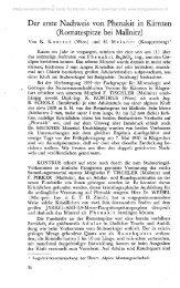Der erste Nachweis von Phenakit in Kärnten (Romatespitze bei ...