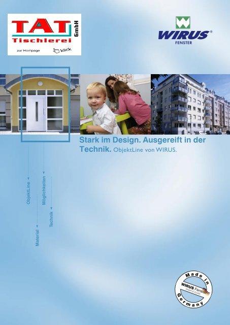 ObjektLine-Wirus-Haustüren von TAT Tischlerei GmbH