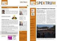 SPEKTRUM Ausgabe 14 / Dezember 2011 - SKM-Lingen eV