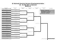 28. Nationale Deutsche Senioren Einzelmeisterschaften 26.