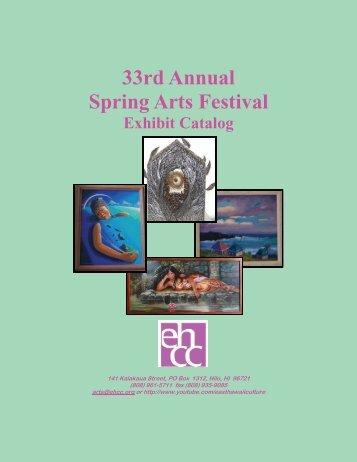 33rd Annual Spring Arts Festival