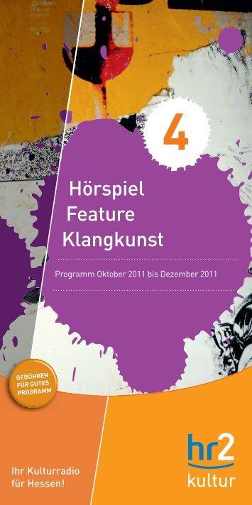 ber 2011 lsruhe - Hessischer Rundfunk
