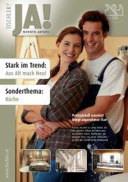 Stark im Trend: Sonderthema: - Tischler