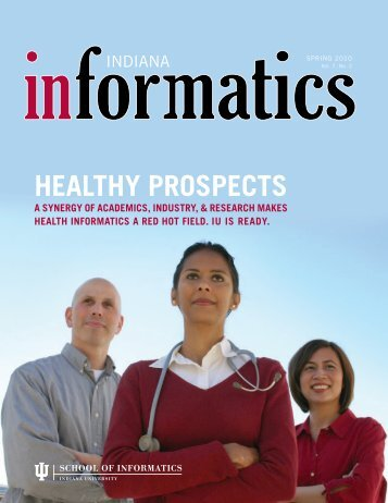 healthy prospects - School of Informatics and Computing - Indiana ...