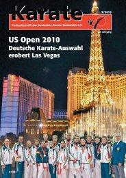 US Open 2010 - Chronik des Karate