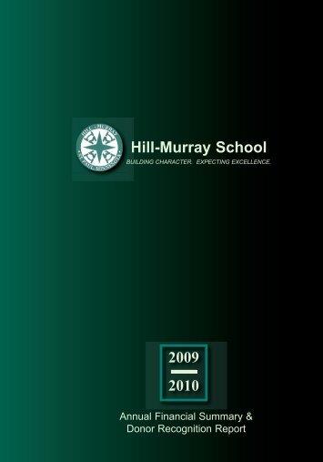 Annual Report 2003-04 Draft 5.qxd - Hill-Murray School
