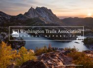 annual report 2008 - Washington Trails Association