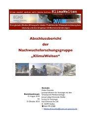 Abschlussbericht - Universität Bielefeld