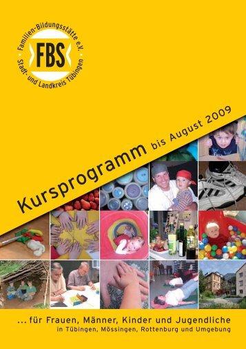 235,00 - Familien-Bildungstätte Tübingen