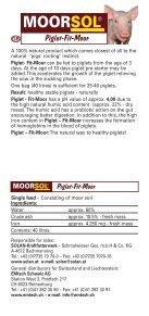 natürlich Ferkel-Fit-Moor Kälber-Fit-Moor Piglet - EMtech Schweiz AG - Seite 5