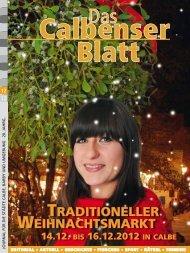 TradiTioneller WeihnachTsmarkT - Grafisches Centrum Cuno