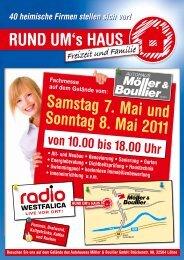 Rund uM's HAuS Samstag 7. Mai und Sonntag 8. Mai 2011 - MF ...