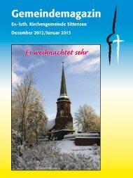 Ausgabe Dezember 2012 / Januar 2013 ...hier klicken - Ev.-luth ...