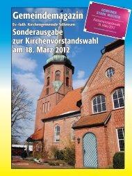 Gemeindemagazin - Ev.-luth. Kirchengemeinde Sittensen