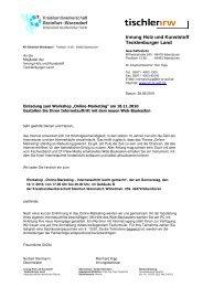 TE-RS Tischler Online Marketing - Kreishandwerkerschaft Steinfurt ...