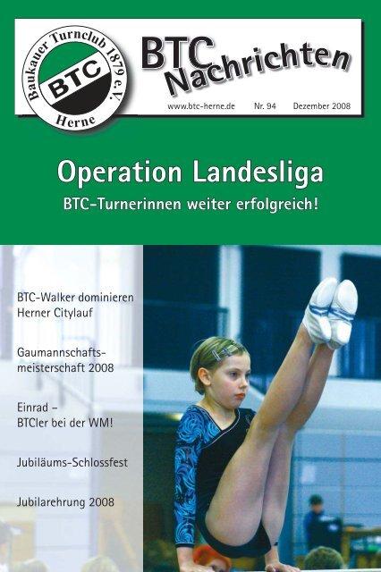 BTC Nachrichten Nr. 94 - Dezember 2008 - Baukauer Turnclub in ...