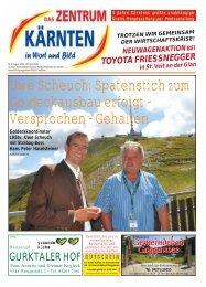 Ausgabe 08.2009 (PDF-Format, ca. 2,3 MB - Zentrum Kärnten in ...