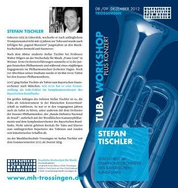 Weitere Informationen und Ausschreibung ... - Tuba-Workshop