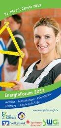 EnergieForum 2013 - Sparkasse Gütersloh