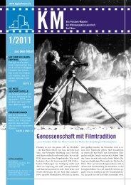 KM Magazin 1/2011 - Wohnungsgenossenschaft
