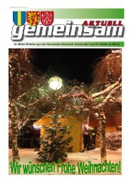 Sonntag, 23. Dezember 2012 - Gemeinde St. Stefan ob Stainz