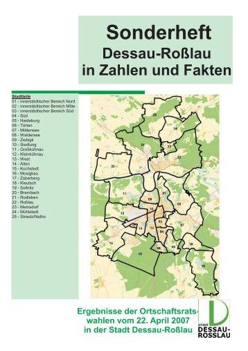 Ergebnisliste - Ortschaftsratswahl - dessau-rosslau - Dessau-Roßlau