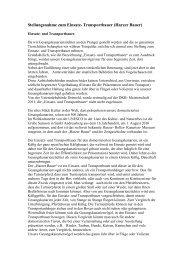Stellungsnahme zum Einsatz- Transportbauer (Harzer ... - LVBS 32