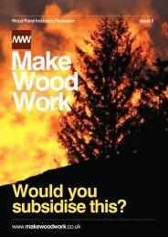 Make Wood Work - Panelco