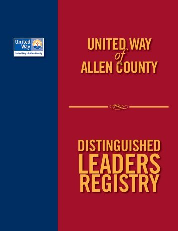 Leadership Circle - United Way Allen County