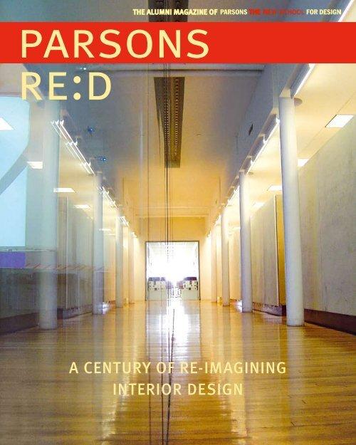 a century of re-imagining interior design - The New School