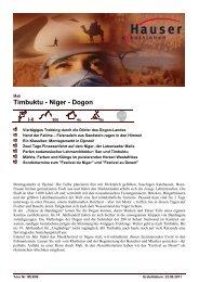 MLK06 Mali Timbuktu Niger Dogon 0911 - Hauser exkursionen